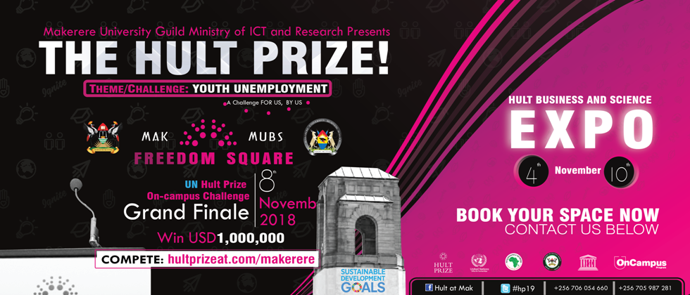 Mak Selected to Host Hult Prize On-Campus Challenge | Makerere