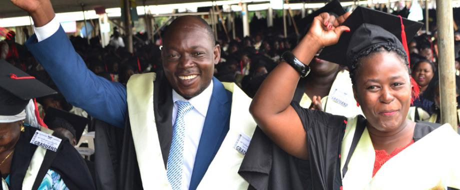 The Makerere University 66th Graduation Ceremony was held from 19th- 22nd January 2016. Prof. Ezra Suruma presiding over the his maiden ceremony as Chancellor of Makerere University conferred degrees and awarded diplomas to 14,318 grdauands.