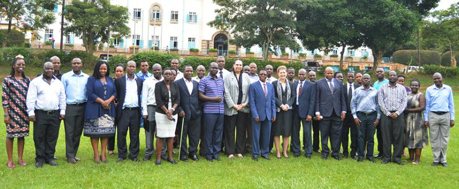 Directorate of Graduate Training in collaboration with the African Centre for Scholarships at Stellenbosch University has launched a 4-day training workshop featuring doctoral research supervision. The training is attended by participants from more than 10 universities in Uganda.