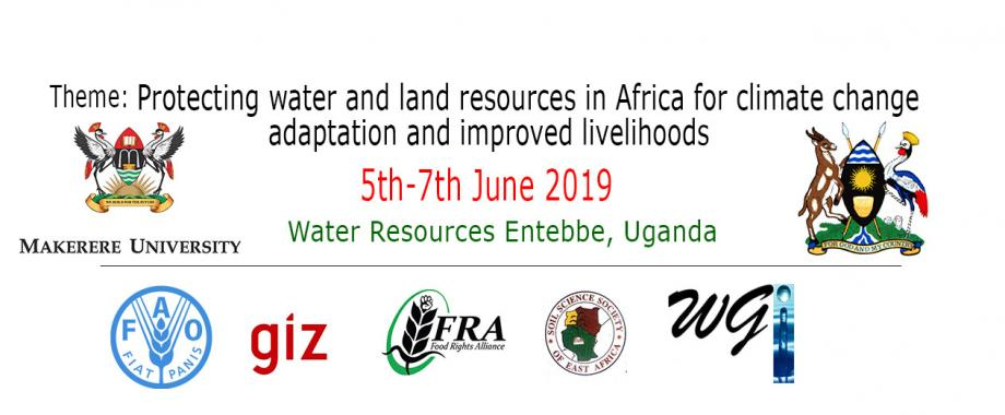 The 1st Great Lakes and Catchment Management (1st GLACAM) Conference, 5th - 7th June 2019, Water Resources Institute, Entebbe, Uganda.