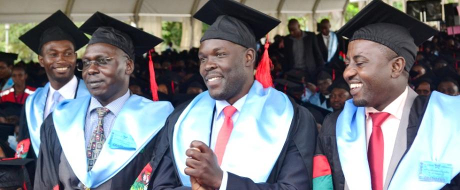 Masters Graduates from the College of Humanities and Social Sciences (CHUSS) on Day 4 of the 67th Graduation Ceremony, 24th February 2017, Freedom Square, Makerere University, Kampala Uganda