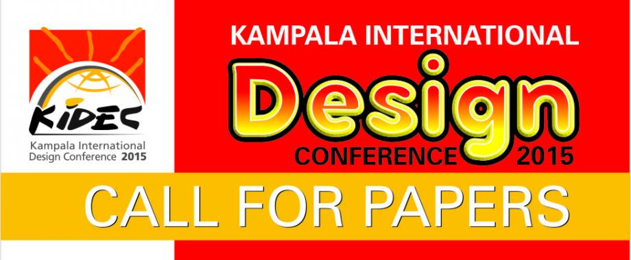 The Kampala International Design Conference 21-24 July 2015