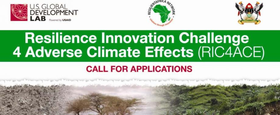 The Resilience Innovation Challenge 4 Adverse Climate Effects (RIC4ACE) Grant Call for Applications September 2014
