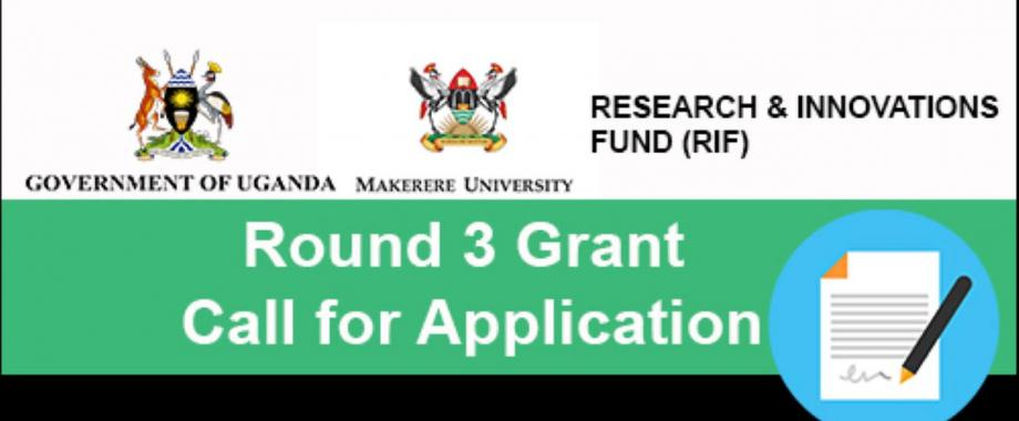 Mak-RIF Round 3 Grant: Call For Proposals. Deadline 2nd May 2021