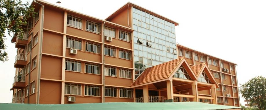 The Senate Building, Makerere University, Kampala Uganda houses the Mature Age Entry Office, Department of the Academic Registrar