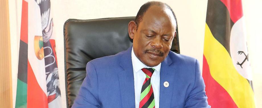 The Vice Chancellor of Makerere University, Prof. Barnabas Nawangwe.