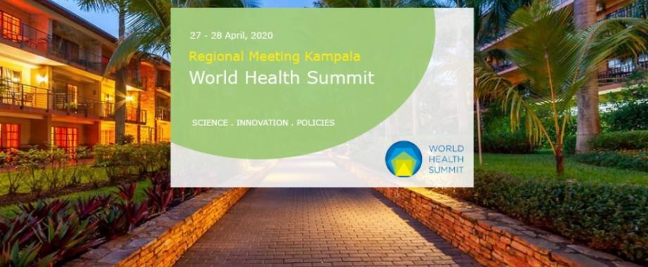 Makerere University and the Government of Uganda are set to host the World Health Summit Regional Meeting from 27th to 28th April 2020 at Speke Resort Munyonyo, Kampala Uganda.